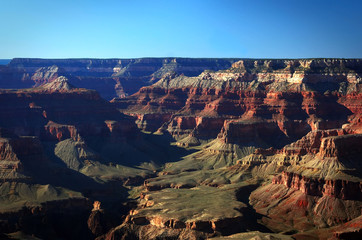 Majestic view of Grand Canyon