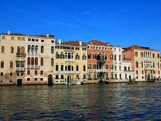 Venice Houses Canal Italy