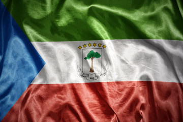 shining equatorial guinea flag