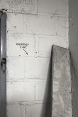 Wand Details in einer alten kaserne