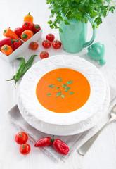 Paprika soup