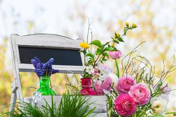 Frühling, Dekoration, Garten