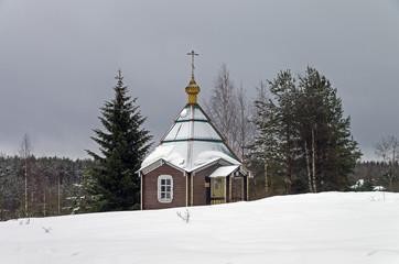 Chapel in Orthodox monastery