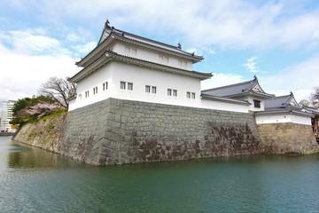 SUMPU CASTLE  IN SHIZUOKA CITY, SHIZUOKA PREFECTURE, JAPAN
