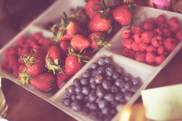 Berry selection pastel