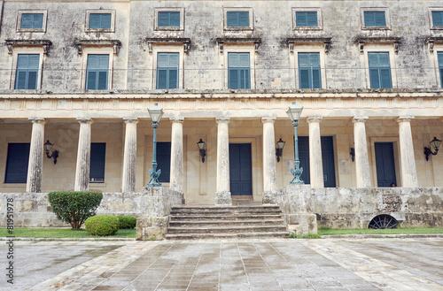 Pałac Świętego Michała i Jerzego na wyspie Korfu