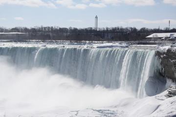 Horseshoe Falls-Winter