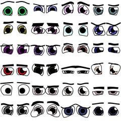 Cartoon 24x eyes