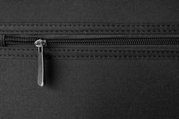 zipper on black