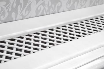 Wooden cover for radiator