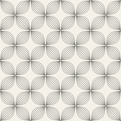 Universal different vector seamless pattern