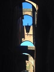 Arches, Siena. Italy.
