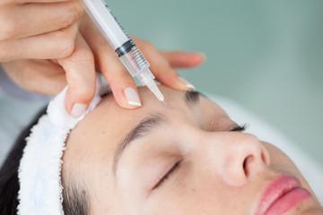Aplicación tratamientos faciales