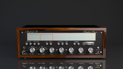 vintage hi-fi receive