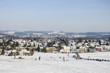 Leinwandbild Motiv Wangen im Allgäu im Winter