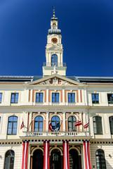 City hall in Riga, Latvia