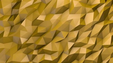 Yellow triangular background