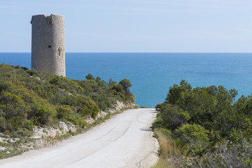 Torre de vigilancia antigua.
