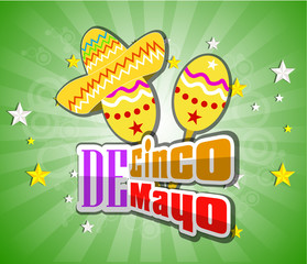 Cinco De Mayo design element