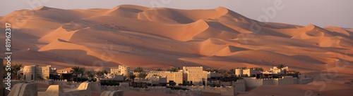 Blockhouse in the desert - 81962317