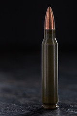 One bullet for a Kalashnikov 7.62mm