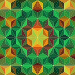 Colorful Mosaic Pattern. Vector Background