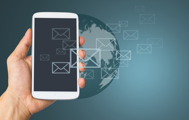 Use smart phone for send E mail