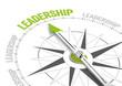 Leinwanddruck Bild - Leadership