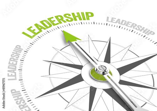 Leinwanddruck Bild Leadership