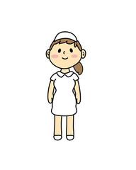 看護師 看護婦 医療 医療従事者 女