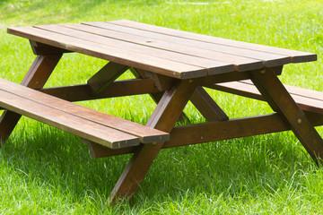 table de jardin et de pique-nique