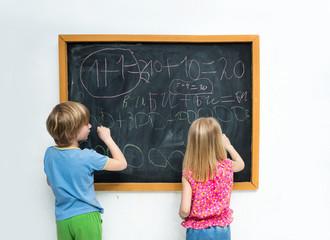 Children write