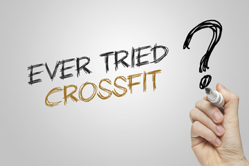 Hand writing ever tried crossfit