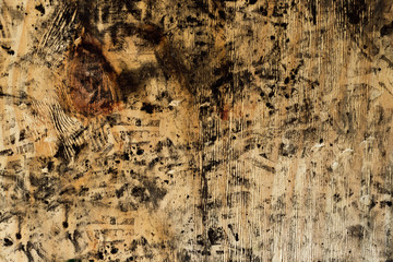 dirty wood board, background and texture