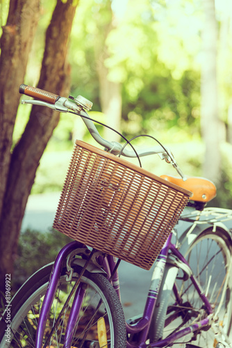 Fototapeta Vintage bicycle