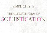 Inspirational quote - Da Vinci