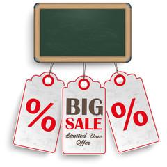 Blackboard Price Stickers Sale