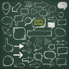 Blackboard Oldschool Elements