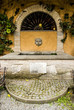 Leinwanddruck Bild - Fontana Casale Marchese Frascati (Roma)