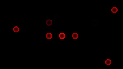 Red light background.