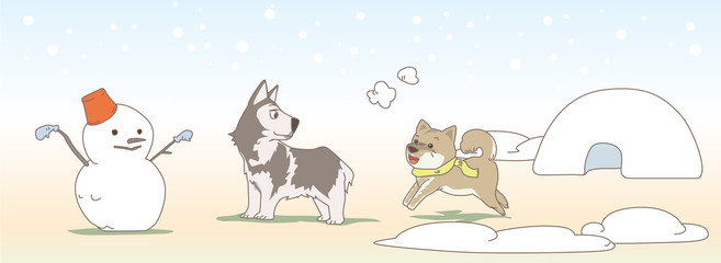 February Dogs