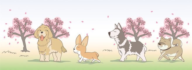 April Dogs