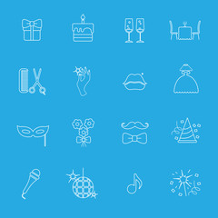 Party_and_Celebration_icon_set_Vector_silhouette_illustration