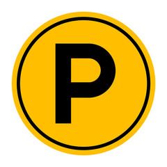 Parking Sign, Vector illustration