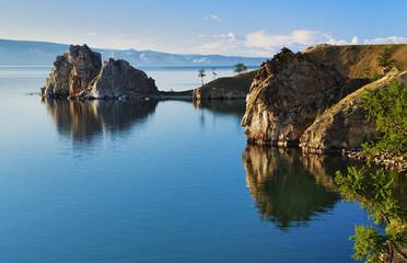 Cape Burhan on Olkhon Island at Baikal Lake