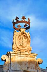 Historical palace. Conversano. Puglia. Italy.