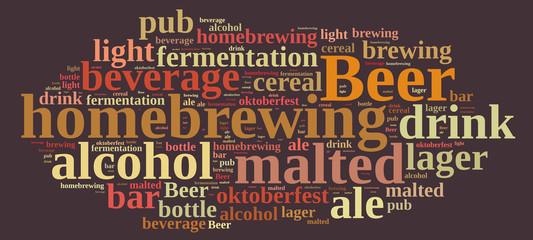 Homebrewing beer.