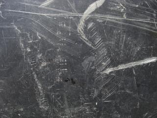 black grunge background with white wear