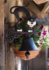 Door rusty bell
