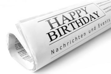 Happy Birthday Headline